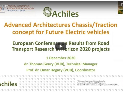Replay available: ACHILES at the H2020RTR20 conference